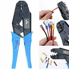 Hilitchi Professional Insulated Wire Terminals Connectors Ratcheting Crimper Too
