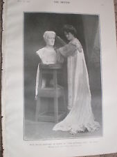 Printed Photo maud Jeffries as Roma in The Eternal City 1903 W2