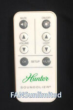 89005-01 Hunter Ceiling Fan Soundolier Remote Control Replacement Transmitter