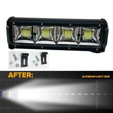 Universal 23cm High Power LED Light Bar Flood Driving Fog Lighting Truck SUV 1x