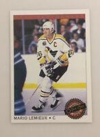 Mario Lemieux 1992-93 O-Pee-Chee Premier Star Performers #22  Penguins HOF