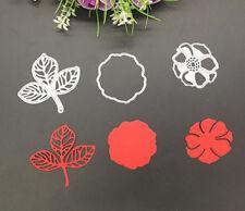 Metal Flower and Leaves DIY Cutting Die Stencil Album Card Paper Embossing Hot