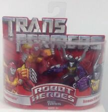 Hasbro Transformers Robot Heroes 2-Pack, Rodimus Vs. Insecticon Action Figure