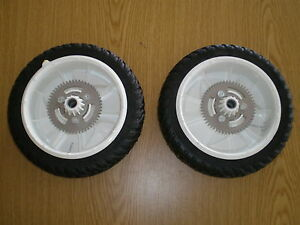 "OEM Toro  Lawnmower Rear drive Personal pace Wheels  8""  105-3036  (Set of 2)"