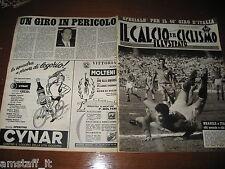 IL CALCIO E CICLISMO ILLUSTRATO 1963/20=SORMANI=ITALIA BRASILE=GIRO D'ITALIA=