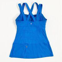 Lululemon Chaturanga Tank Porcelaine Blue Size 6 Running Yoga Athletic Top