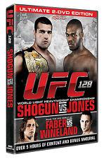 NEW & Sealed UFC 128 - Shogun vs. Jones DVD (2 Discs) MMA