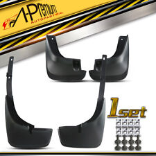 A-Premium 4x Splash Guards Mud Flaps Front & Rear for Toyota Corolla 1998-2002