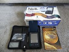 Vintage Palm Iiic Palm Pilot Pda - Unit Only Franklin Planner Edition