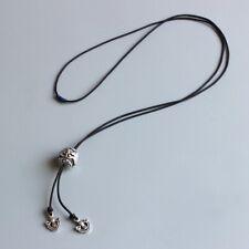 Handmade Tibetan Lucky Dragon Bead Rope Necklace Buddhist Longevity Amulet