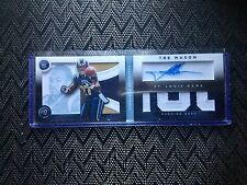 TRE MASON 2014 PANINI PLAYBOOK PLATINUM #157 DUAL PATCH AUTO ROOKIE /49 TRUE RPA