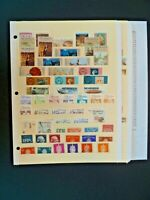 """Worldwide Lot of 103 Stamps in Stock Pages - """"N & P"""" Countries - See Description"""