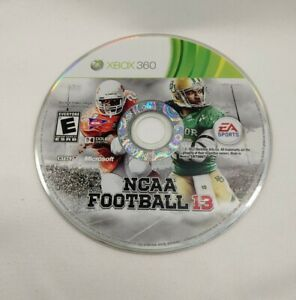 NCAA Football 13 (Microsoft Xbox 360) Resurfaced and Tested DISC ONLY