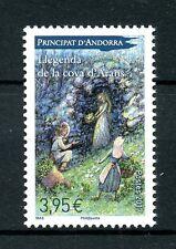 French Andorra 2017 MNH Legend of Cave of Arans 1v Set Legends Mythology Stamps