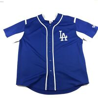 Los Angeles Dodgers LA Blue Jersey Majestic MLB Mens XL