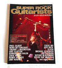 SUPER ROCK GUITARISTS JAPAN VISUAL BOOK 1994 Yngwie Hendrix Slash Randy Rhoads