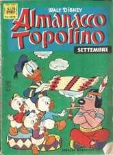 ALMANACCO TOPOLINO 1966 NUMERO 9 + BOLLINO