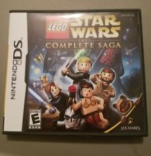 lego star wars the complete saga ds replacement case and manual only