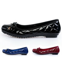 Ballet Leather Flats Shoes Women Plus Size 35-41 Black Square Toe Gifts For Lady