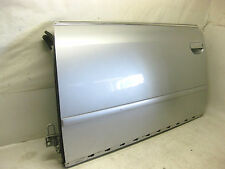 2000 AUDI A6 FRONT LEFT DOOR ASSEMBLY SILVER OEM 00 01 02 03 04