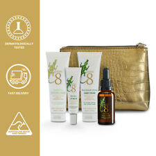 Golden 8 Travel Essentials Kit - 145ml total with Crocodile Oil