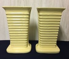 Vintage Roseville Pottery Yellow Vase USA # 275 RRP CO Ohio