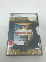 STAR WARS EMPIRE AT WAR GOLD PACK - PC DVD Video Game - LucasArts - Brand New -