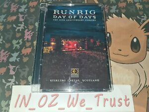 Runrig - Day of Days The Live 30th Anniversary Concert (DVD, 2004)