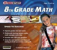 Speedstudy 8th Grade Math  Take the quick path to math success  NEW  Win 7 8