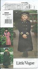 Vogue 8864 sewing pattern A-line COAT Chic HAT BERET CAP sew sizes 7,8,10 UNCUT