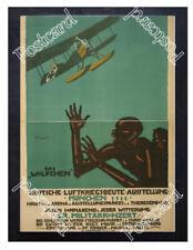 Historic WWI German Poster exhibition in Munich war spoils Postcard