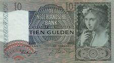 Niederlande Netherlands 10 Gulden 1942 P56 aUNC