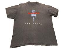 New listing Vintage Music T-Shirt Motown Cafe Oldies Single Stitch Las Vegas Size L Black