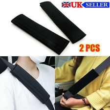 2pcs Car Seat Belt Cover Pads Car Safety Cushion Covers Strap Pad Adult Kids UK
