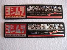 YOSHIMURA Sticker Auspuff Emblem Aufkleber Kawasaki Honda Suzuki Yamaha HRC FX