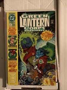 GREEN LANTERN CORPS QUARTERLY #s 1-8 (Full Set, DC, 1992) - VF To VF+