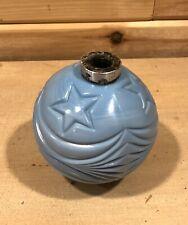 Lightning Rod Powder Blue Star Glass Insulater Ball