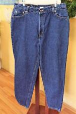 Vintage Levis 550 Sz 18W Short Relaxed Fit Mom Jeans Blue Tapered Leg Classic