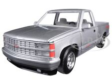 1992 CHEVROLET SS 454 PICKUP TRUCK SILVER 1/24 DIECAST CAR MODEL MOTORMAX 73203