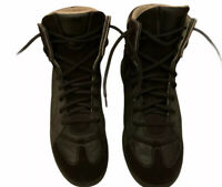 Manson Martin Margiela  Mens Black High Top Sneakers Size EU 41 UK 7 RRP £645..
