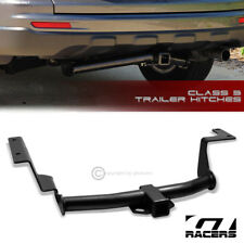 "CLASS 3 MATTE BLACK TRAILER HITCH RECEIVER BUMPER TOW 2"" FOR 2007-2011 HONDA CRV"