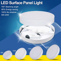 Round Surface Mounted Ceiling Lamp LED Panel Down Light For Home/Commercial AF3