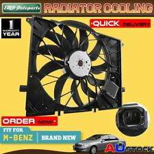 Radiator Cooling Fan Assembly for Mercedes Benz S-Class W220 C215 99-06 Sedan