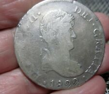 1822 CG MEXICO (8 REALES) SILVER (DURANGO) --WAR of INDEPENDENCE --- -