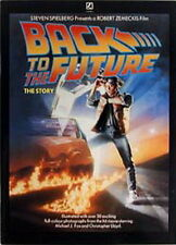 1985 Back To The Future British Story Book- Softcover- Lots of Photos- UNREAD