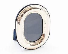 Cornice argento 925/1000 misura 6x9 esterno ovale inglese con disegno