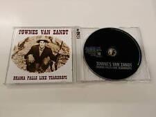 TOWNES VAN ZANDT DRAMA FALLS LIKE TEARDROPS CD 2000