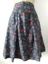 WHITE STUFF BIRD PRINT SKIRT SIZE UK 10 VERY GOOD CONDITION
