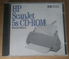 HP ScanJet 5S CD_ROM PC Disc C5162-90030 Windows 95