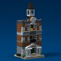 LEGO Mini Modular Town Hall 10224 PDF Instructions LDD Files